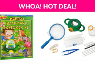 65% Off! Backyard Science Kids Science Kit