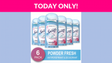 60% OFF! Secret Antiperspirant and Deodorant