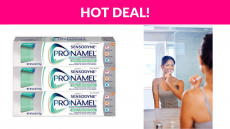 3-Pack Sensodyne Pronamel Toothpaste Deal