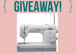 Enter TO Win a Sewing Machine [ Value $1,149 ] !