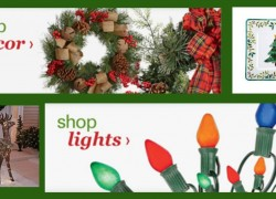Up to 70% off Christmas Trees, Ornaments, Lights and Holiday Décor