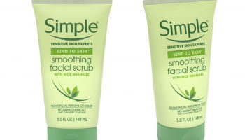 FREE Simple Smoothing Facial Scrub Full Size Product!