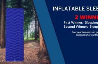 Win a Unigear inflatable sleeping pad!