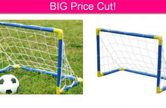 BIG PRICE DROP! Folding Soccer Goal! *Ships FREE*