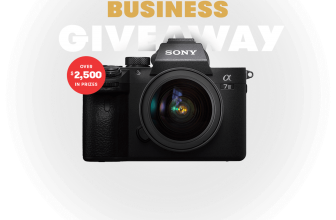Win a Sony Camera and Lens Bundle!!