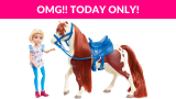 44% OFF! Spirit Riding Free Small Doll & Horse Set