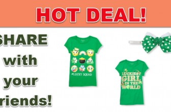 Childrens Place : St. Patrick's Day Shirts ONLY $2.99 ! Like OMG!