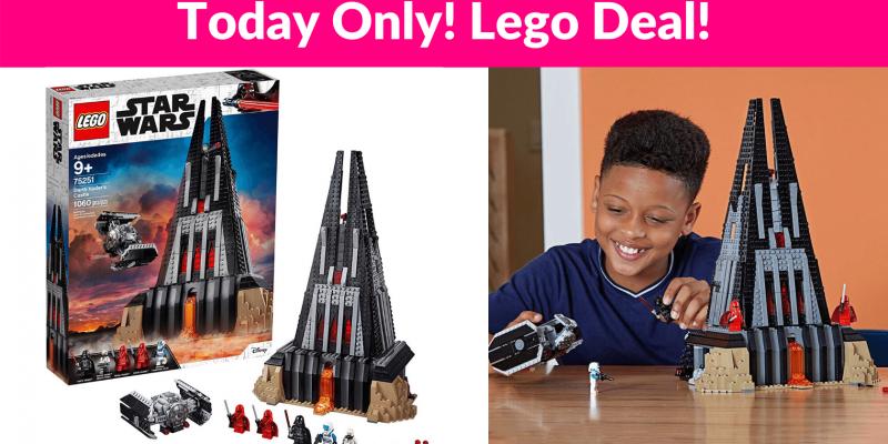 40% OFF! LEGO Star Wars Darth Vader's Castle
