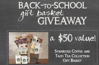 Win a Starbucks Coffee Gift Basket!