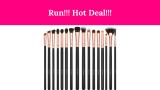 Run!! BESTOPE Eye Makeup Brushes 50% Off!