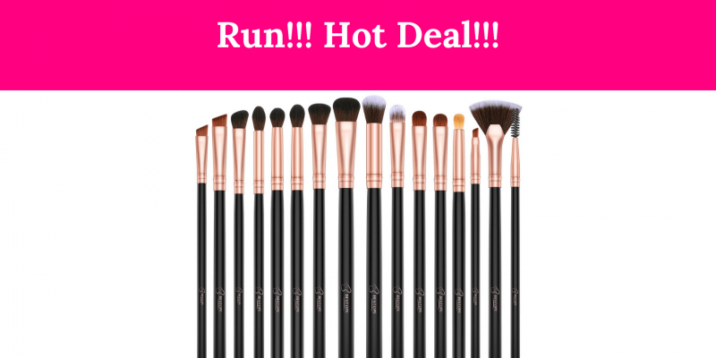 Run!! BESTOPE Eye Makeup Brushes 50% Off!