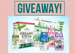 Enter to Win a SweetLeaf Stevia prize package!!