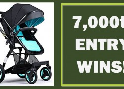 [ 7,000 Entry WINS! ] WIN a Travel System!