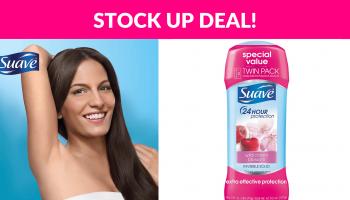 Suave Antiperspirant Deodorant