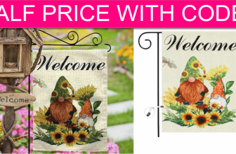 Sunflower Welcome Flag CHEAP with FREE Shipping!