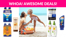 Hottest Deals On Sunscreen