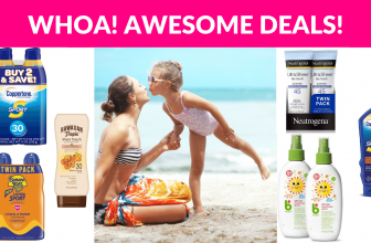 Hottest Deals On Sunscreen