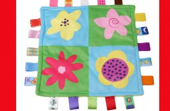 """SO CUTE! """" Silky """" Tag blanket ONLY $3.62 Shipped!"""