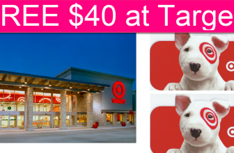 RARE! $40 Off $40 At Target! FREE Stuff at Target!