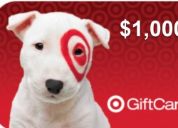 Win a $1,000 Target Gift Card  !