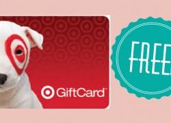 $40 Amazon/Target or VISA Card TOTALLY FREE!