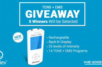 Win a TENS+EMS Therapy System!