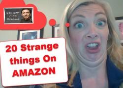 20 STRANGE things ON Amazon [ GREAT GIFT IDEAS ] !