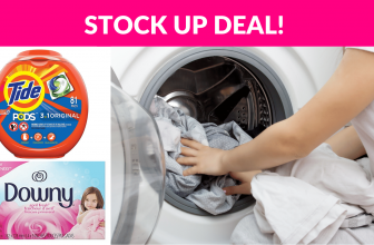 Laundry Stock Up Deals