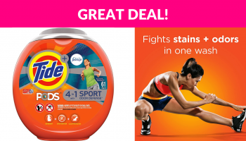 Tide PODS 4 in 1 HE Turbo Laundry Detergent Pacs