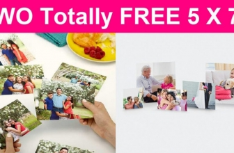 Totally FREE TWO 5×7 prints !