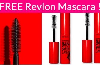 WOW! Totally FREE Revlon Mascara!