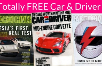 Great Father's Day Gift! FREE 2-Year Subscription to Car and Driver Magazine!