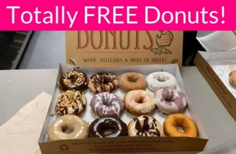 YUMMY! 100% FREE Duck Donuts.