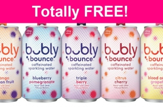 Totally FREE Bubly Bounce Mango Passionfruit!
