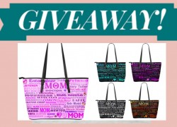 Make your Mom happy by winning this Cute Mom Tote bag!!