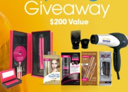 Win Beauty Styling Tools and Products ! [ $200 Value ]
