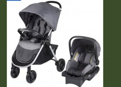 Evenflo Stroller & Car Seat – Complete Travel System – $95 ! ( Reg. $200 )