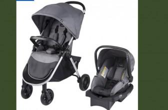 Evenflo Stroller & Car Seat – Complete Travel System – $95 ! ( Reg. $200 )