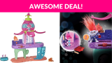Trolls Blooming Pod Stage Musical Toy