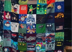 WIN A Beautiful Custom T-Shirt Quilt !