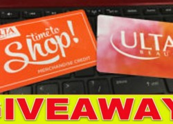 Who needs New Make up? Win a $200 Ulta Beauty Gift card!!