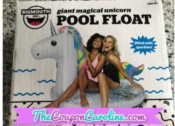 So Fun! Unicorn Pool Float As Low As $23.75 (Reg. $29.99)!