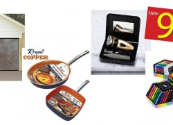 50% to 90% off items like: Jet Floss, Copper Pans, Fitness Watches & More!