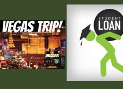 Win a Trip to Vegas +  student loans PAID FOR A YEAR! [ YES PLEASE!!! ]