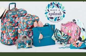 [ 3 WINNERS ] Vera Bradley Travel Gift Set worth  $989 ! YES PLEASE!