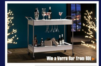 Chance to Win a $1500 Bar Cart