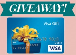 Win a $130 Visa Gift Card! [6 Winners]