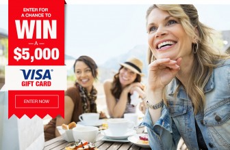 Enter To Win a $5,000 VISA Gift Card!