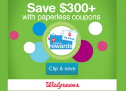 Load Up Your Paperless Coupons At Walgreens