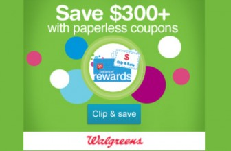 Load Up Your Paperless Coupons and BOGO Deals At Walgreens